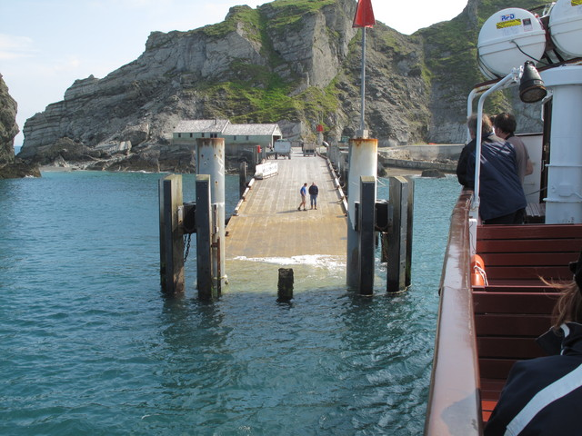 Lundy Island Jetty