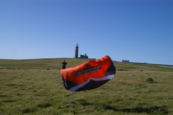 G7KNA Crashes the Traction Kite