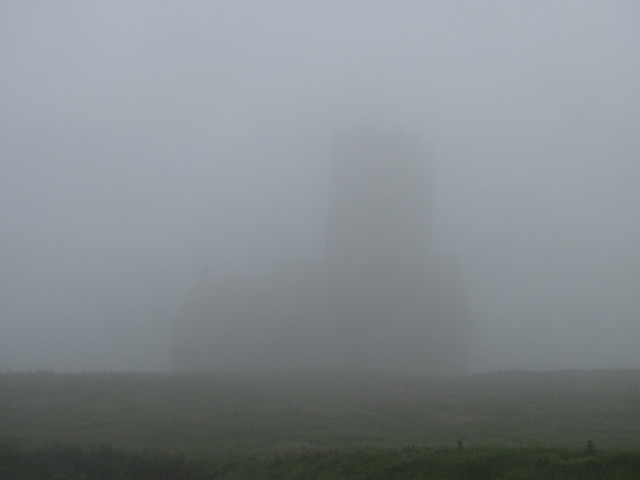 Lundy Church in the Fog
