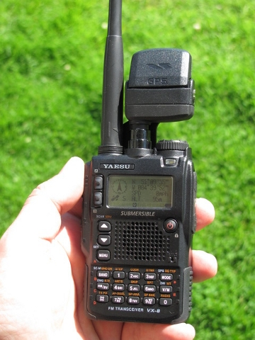 The Yaesu VX8 of G0ECM