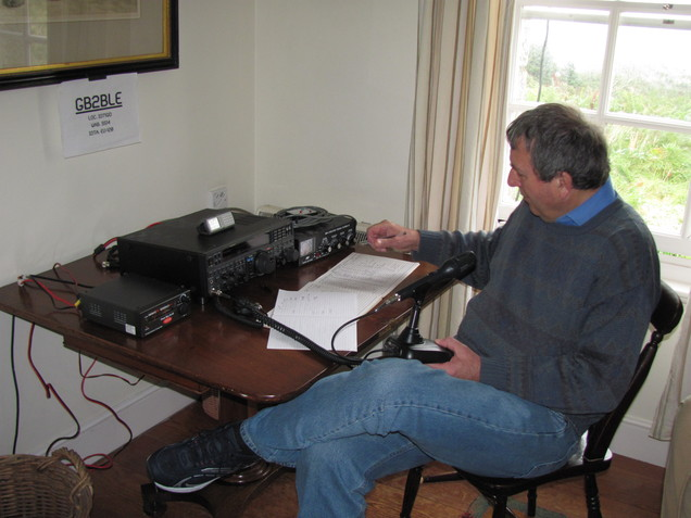 Peter G0DRX Operating SSB