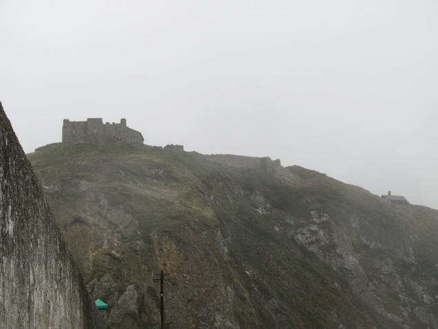 Lundy Castle from South Light