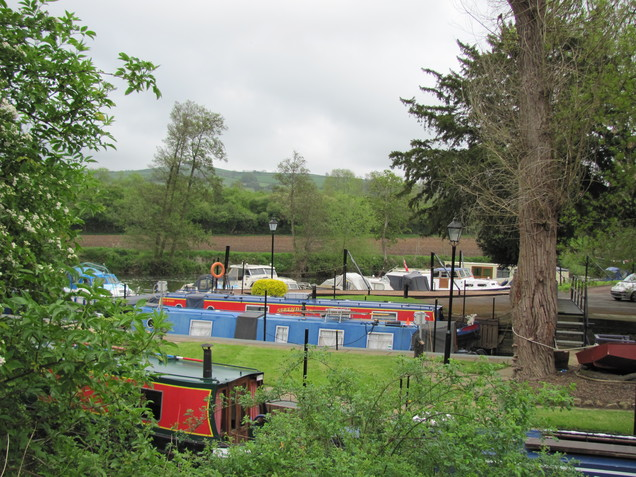Narrow Boats at Saltford Brass Mill