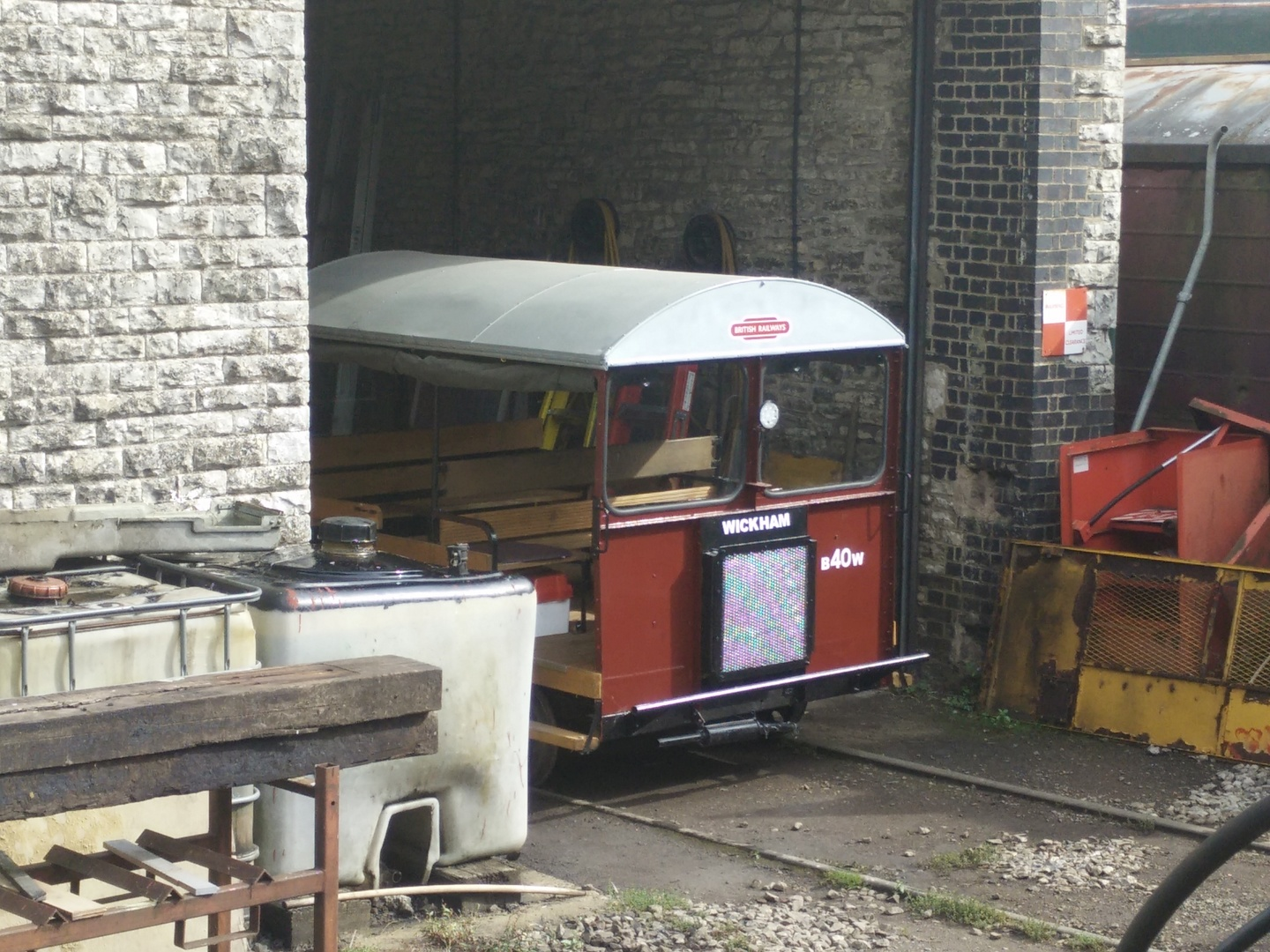 Restored rolling stock