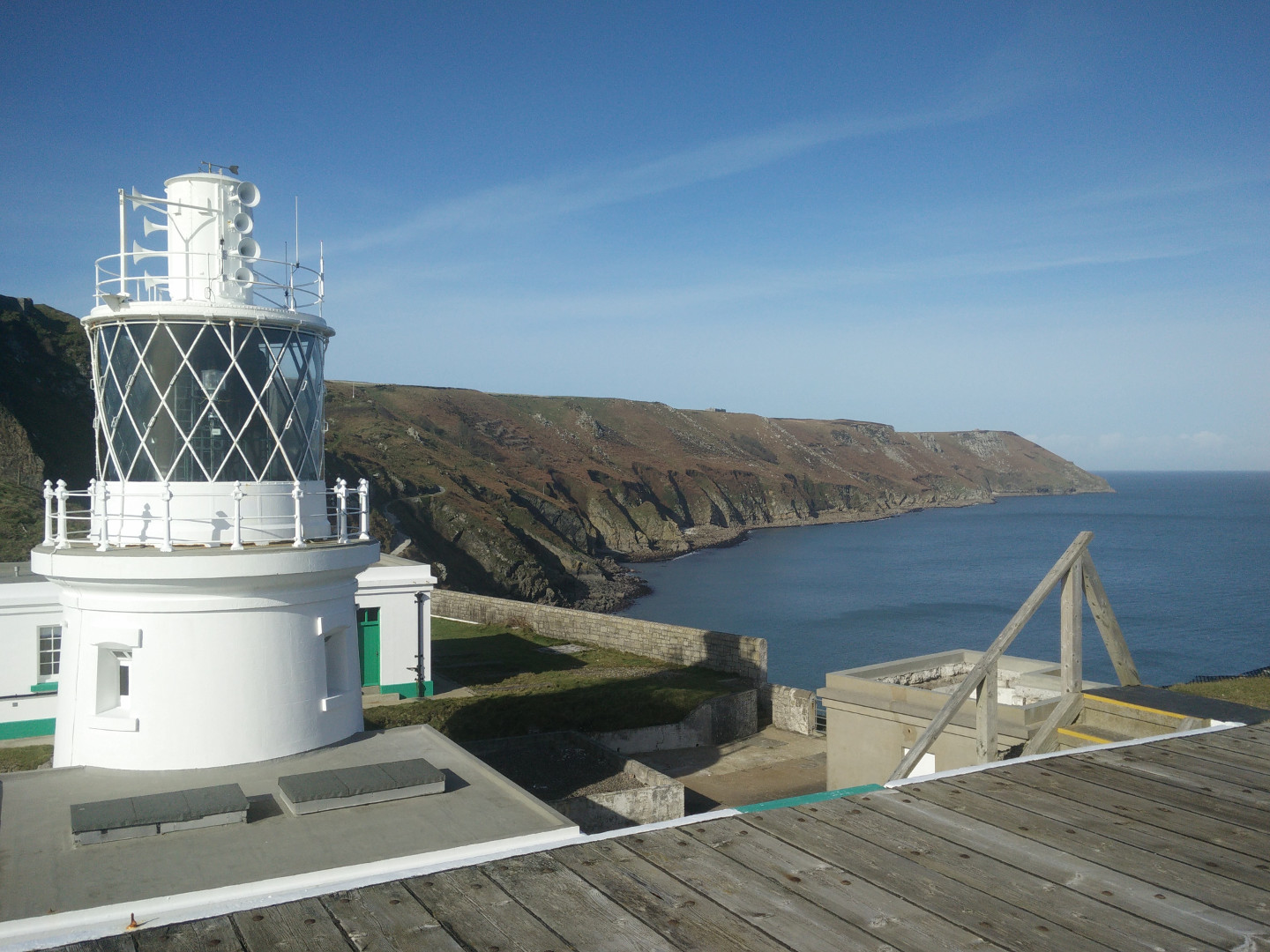 South Light Lundy Island